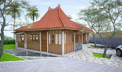 Villa Kampung Duren Margoagung Yogyakarta. Type 105 LT 497 Meter  Harga 1.100.000.000 Juta