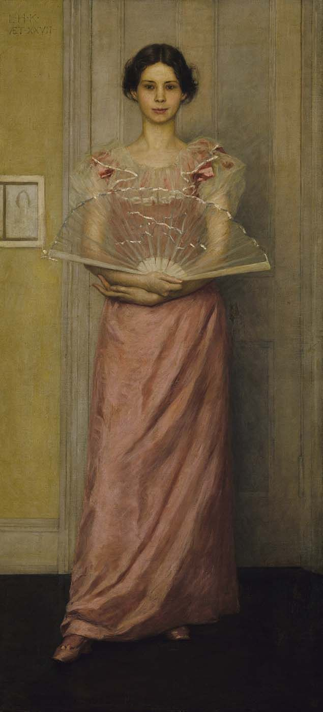 """My inspiration for Mary Bennet. In reality, this is an 1892 portrait """"Portrait of the Artist's Wife"""" by Kenyon Cox."""