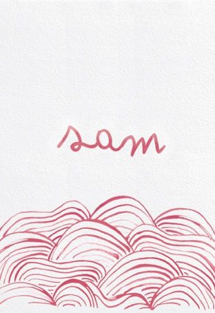 Geboortekaartjes / origamianimal / vosje / cardboard / handmade / design / StudioNOUK / geboortekaartje vanaf € 75,- / lief / leuk / stoer / origineel / modern / hip / kaartje op verzoek / fashion / trends / baby / zwanger / pregnant / illustratie / handdrawn / inkt / ecoline/ kan in alle kleuren!  EMMA / SAM / oceaan / meisje / inkt / mooi / kan in alle kleuren / freedom