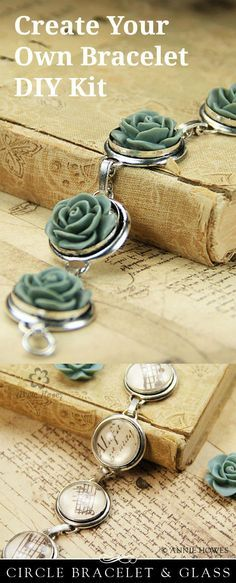 Oh, I want to make my own bracelet. Great DIY gift idea.