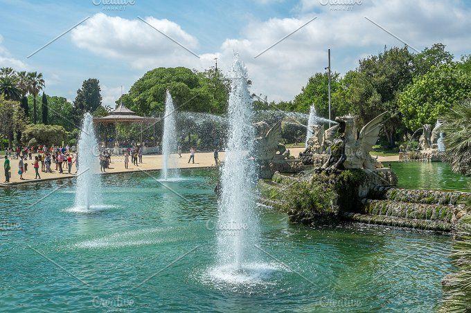 Parc de la Ciutadella by Borishots on @creativemarket