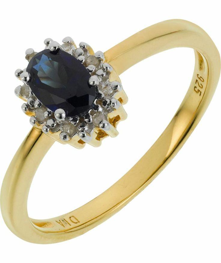 Sapphire And Diamond Eternity Ring Argos