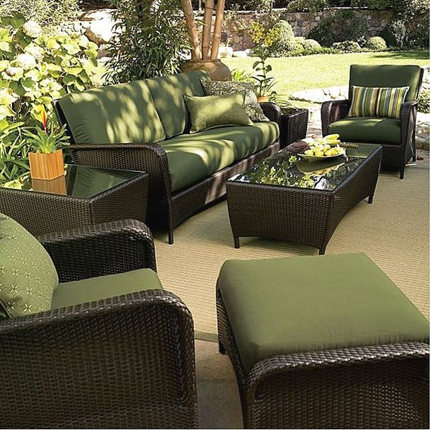 Outdoor Furniture Like This Arrangement Of Out Door