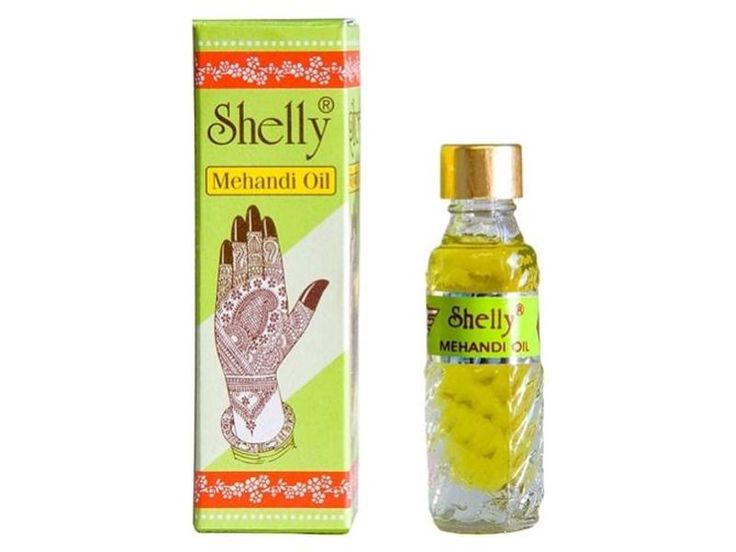 2 x Shelly Mehandi Henna Oil Mehndi for Darkening Henna - Body Paint Kit Tattoo…