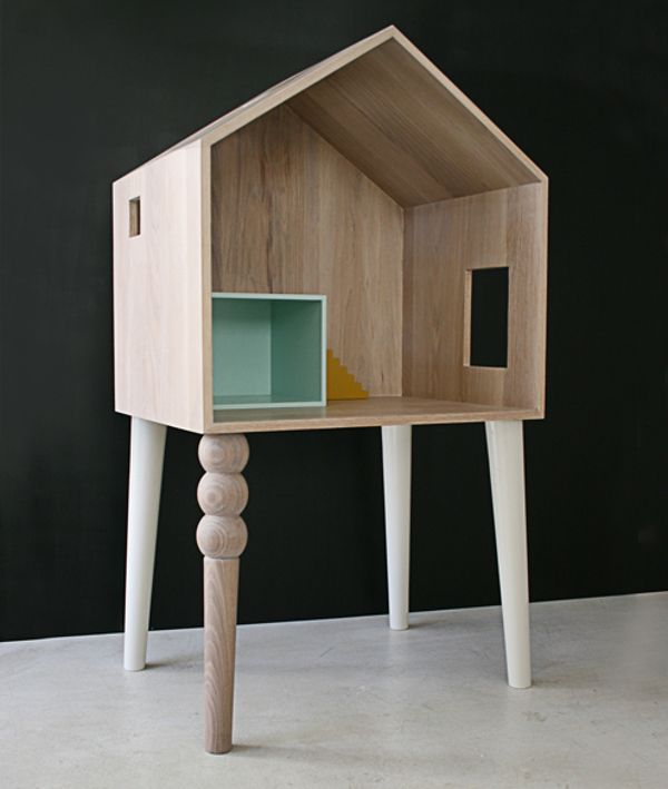 We're exploring the latest from designers Atelier Sans Souci, from an extraordinary dolls house to a child's bed, storage and toys