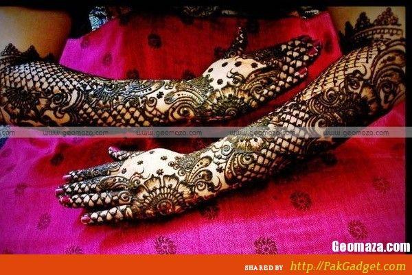 Falguni Rajpara Bridal Mehndi Designs : Bridal mehndi design by falguni rajpara ajewelrystyle