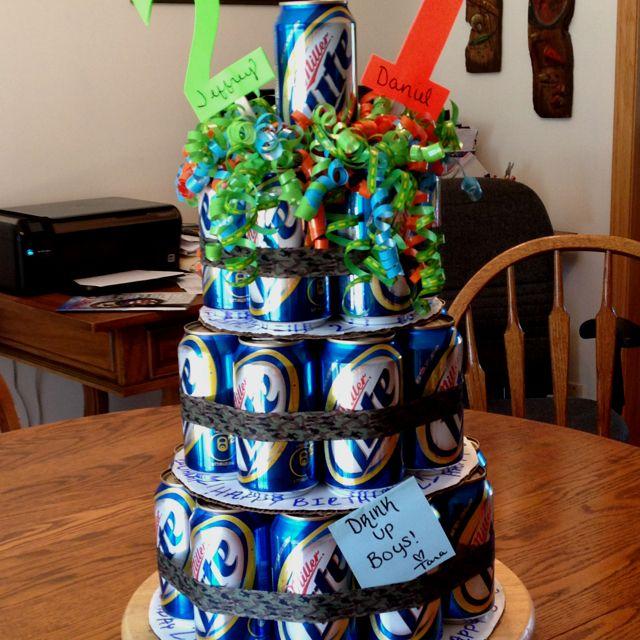Guys, Birthday Cakes And 21st Birthday On Pinterest