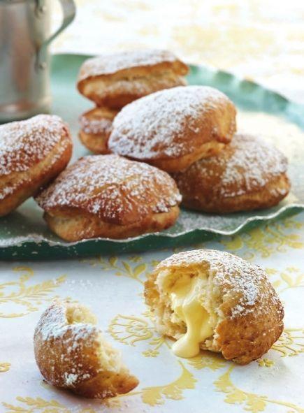 Lemon-Filled Beignets Recipe