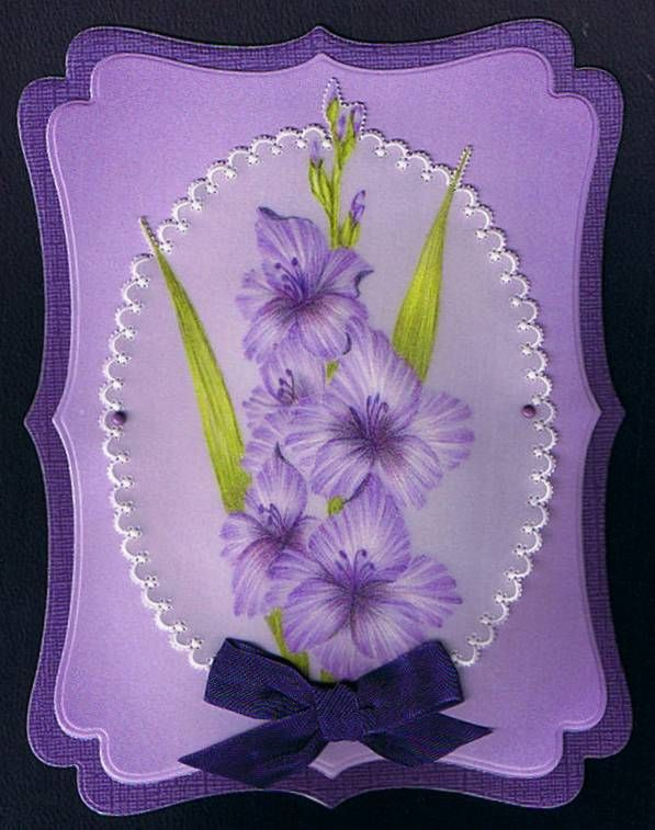 Some of my Parchment work - Parchment Craft - Craft Creations Forum