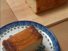 キャラメルりんごのケーキの画像