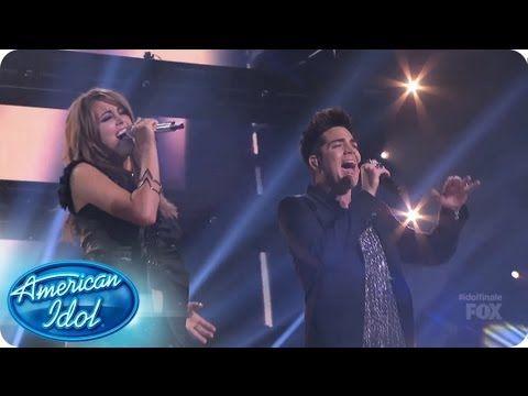 "Angie Miller and Adam Lambert Perform ""Titanium"" - AMERICAN IDOL SEASON 12 Finale"