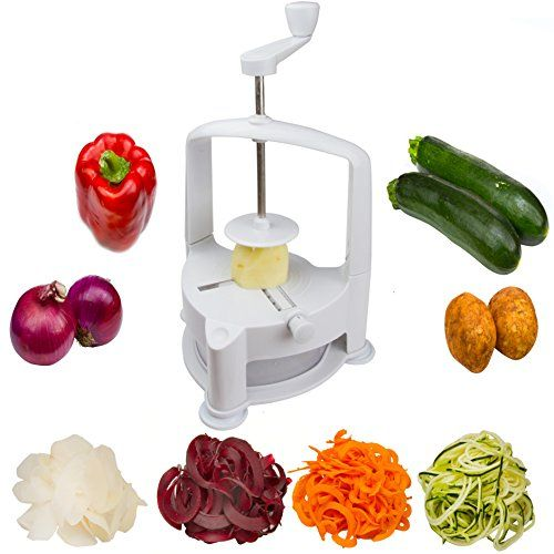 Brieftons Vertico Spiralizer: Vegetable Spiral Slicer, Fresh Veggie Spaghetti & Pasta Maker for Low Carb Healthy Vegetable Meals Brieftons http://www.amazon.com/dp/B015Q7ESF4/ref=cm_sw_r_pi_dp_4zCywb0R88MKR