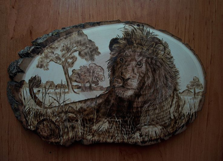 Pyrography 100% handmade, eco art