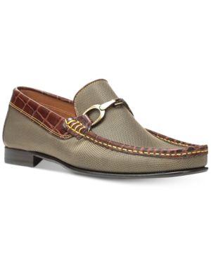 Donald Pliner Men's Darrin3 Slip-On Loafers - Gold 10.5