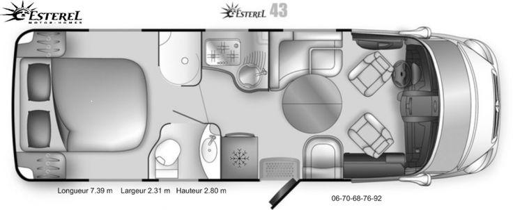 Location Camping car ESTEREL 43 MERCEDES Truyes (37320) . Entièrement équipé - cuir havane - GPS DVD DVX CD - TV SAT AUTO - ALARME - FERMETURE CENTRALISEE- PANNEAU SOLAIRE - DOUBLE BATTERIE CELLULE - LIT CENTRAL ARRIERE ET LIT PAVILLON -QUATRE ADULTES - FRIGO- CONGELATEUR-FOUR-POSSIBILITE DE KILOMETRAGE ILLIMITES - TARIF DEGRESSI A COMPTER DE DEUX SEMAINES - LA SEMAINE HAUTE SAISON 750 € AVEC 1300 KM