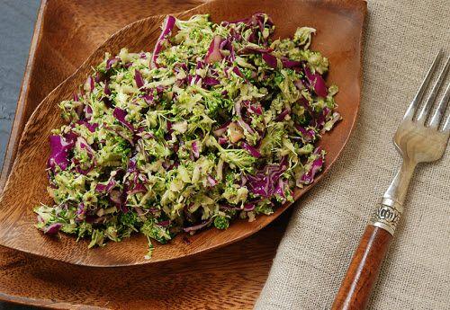 Paleo Sesame Broccoli Salad