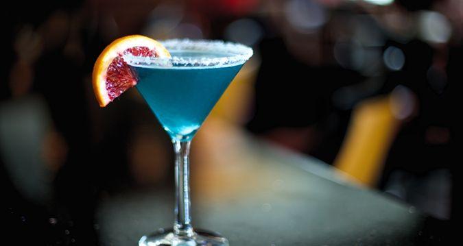 The Skirvin Hilton Oklahoma City Hotel, OK - Blue Drink | OK 73102