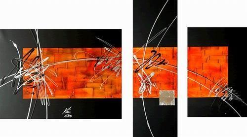 40 Imágenes Abstractas Para Descargar E Imprimir: Impresionante Colección De 30 Cuadros Trípticos