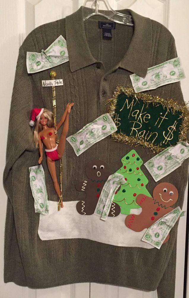 die besten 25 ugliest christmas sweaters ideen auf pinterest h ssliche weihnachts pullover. Black Bedroom Furniture Sets. Home Design Ideas