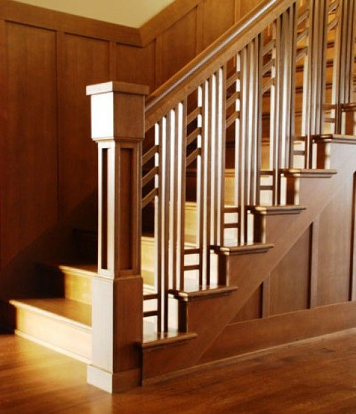 Awesome Arts U0026 Crafts Style   While It Can Read As A Bit Fussy Sometimes, I · Craftsman  StaircaseCraftsman ...