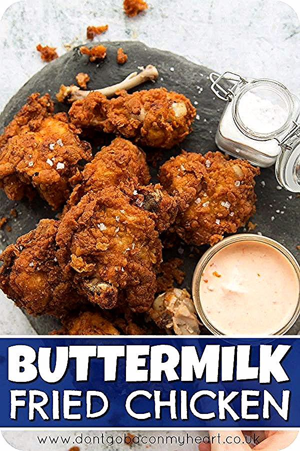 Buttermilk Fried Chicken New Ideas In 2020 Buttermilk Fried Chicken Chicken Recipes Rotisserie Chicken Recipes