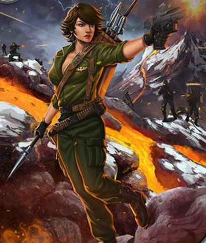 GI Joe Battleground: Lady Jaye