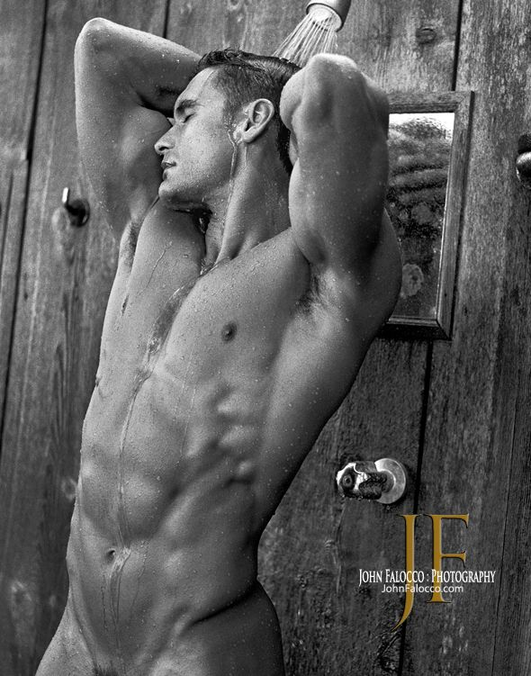 Nice and clean too!!  Kurt Carlos © JOHN FALOCCO johnfalocco.com #hunky #hot