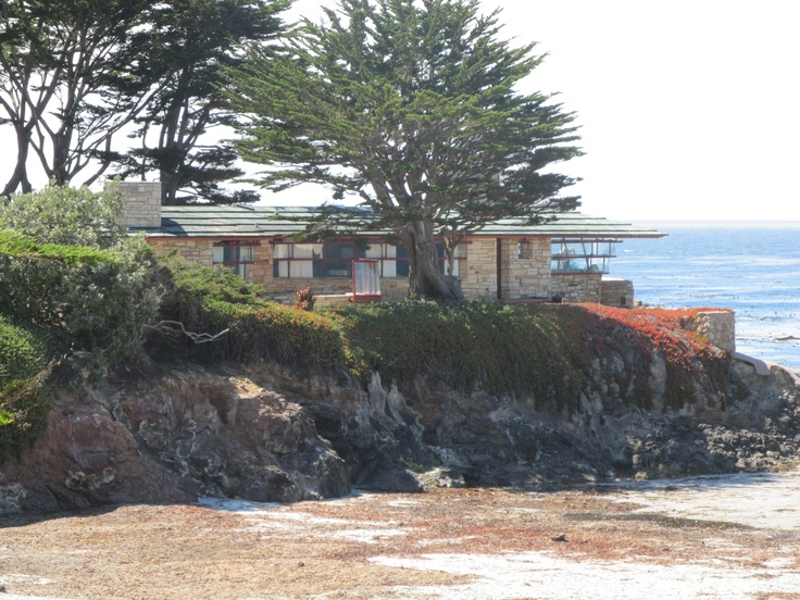Frank Lloyd Wright House Carmel Beach