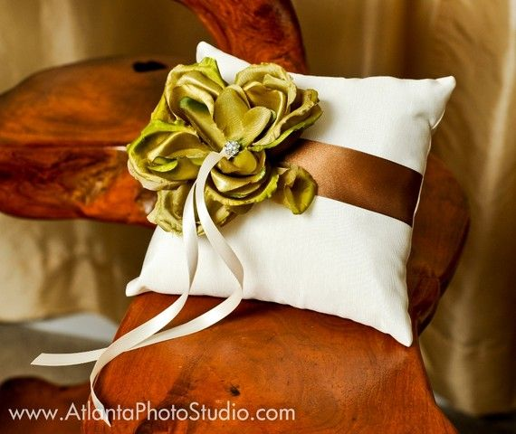 cute wedding pillow