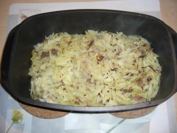 Rezept: Thüringer Schichtkraut *Weißkraut *Hackfleischgerichte