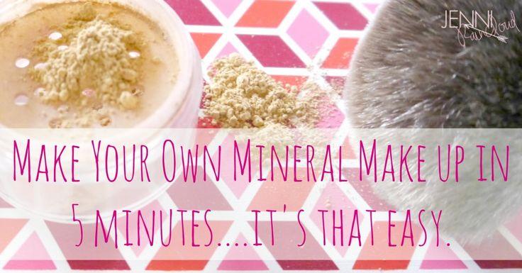 Make Your Own Mineral Makeup - Jenni Raincloud