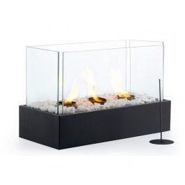 Outdoor Living Large 3 Burner Fireplace