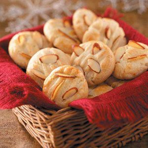 Chinese Almond Cookies---trying these out today for Chinese New Year's ~ The Year of the Horse begins in Jan 31, 2014