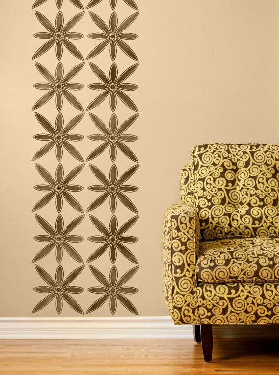 1018 best images about afrocentric style on pinterest - Flower stencils for walls ...
