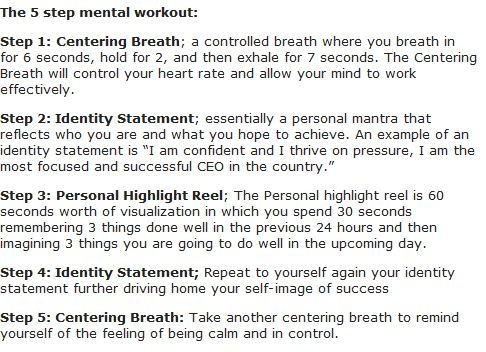 Daily Mental Health Workout