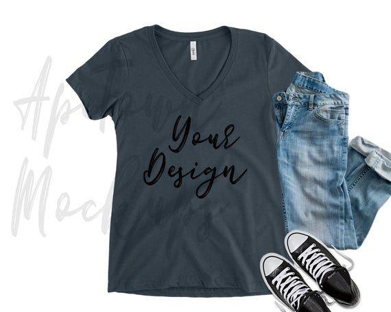 Download Free Blank Vneck Midnight Navy Vneck T Shirt Flat Lay Mock Psd Free Psd Mockups Clothing Mockup Mockup Free Psd Free Psd Mockups Templates