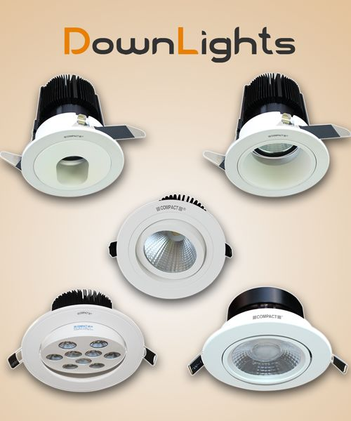 LED DOWNLIGHT COB LIGHTS Visit: http://www.compactlighting.net/led-fixtures/led-downlights/led-downlight-cob.html