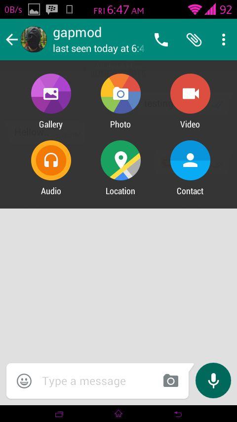 WhatsFapp v1.25 WhatsApp+ Reborn Apk | Google Emojis