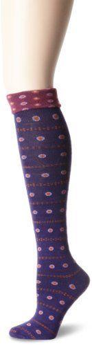 Goodhew Women's Eliza Knee-Hi Socks, Concorde, Medium/Large by Goodhew. $16.40