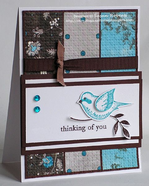 Show Me the Paper » Rainy Day Creations using Stampin Up Language of Friendship