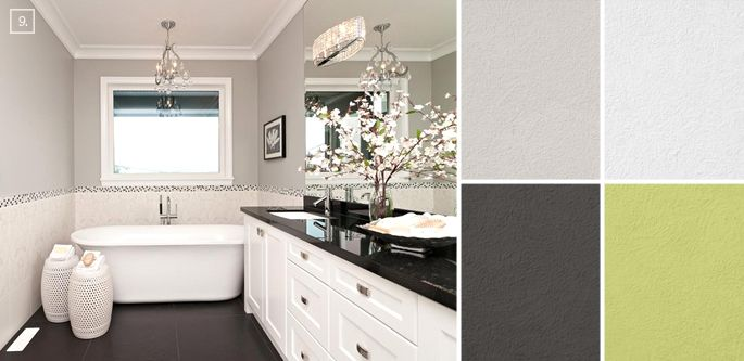 Bathroom Color Ideas Palette And Paint Schemes Trees 50 And Home