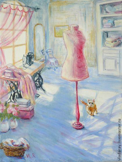 """картина """"Кутюрье"""" - картины животных,картины котят,картины с котятами"""