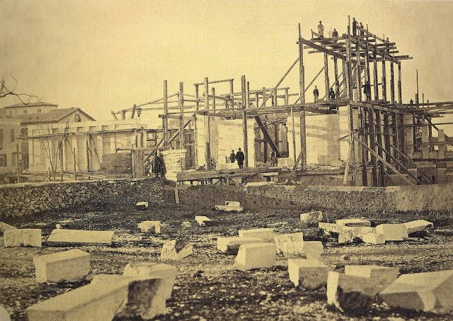ΠΑΝΟΡΑΜΙΚΗ  ΖΑΠΠΕΙΟΥ  ΚΑΙ  ΟΛΥΜΠΙΕΙΟΥ  1   1870