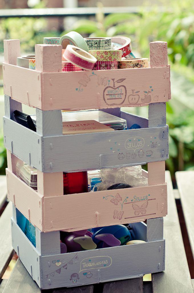 Craft Project: Transformando cajas de fresas | Gallimelmas e Imaginancias