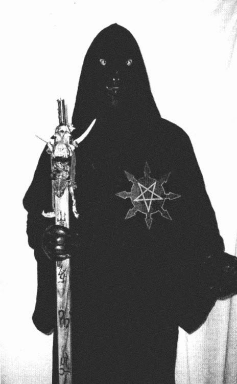 Heavy metal has always loved a good altar, especially when it's accompanied by an occult ritual or two. The occult altar and ritual have played a huge part in the