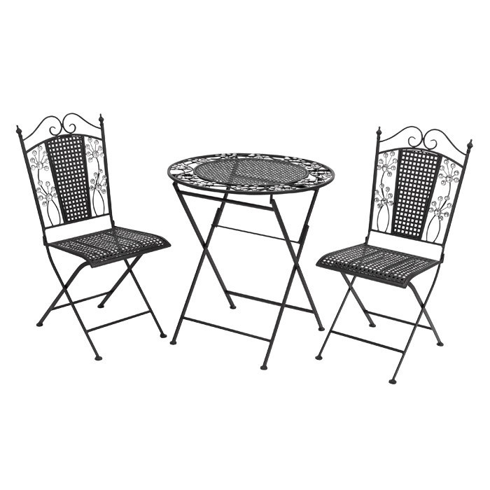 Nice, Portable, Perfect For Moving Around The Garden. I Pinned This 3 Piece  Helaine Bistro Set From The La Vie En Rose Event At Joss And Main! Part 71