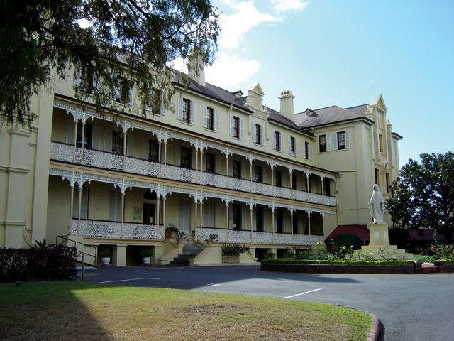 Mercy Heritage Centre: Built in 1858 by John Petrie for Dr George Fullerton, 'Adderton' is a typical Georgian mansion. Since 2007 the Mercy Heritage Centre building has been transformed into a world-class museum and heritage centre #boh2014 #unlockbrisbane #brisbane #discoverbrisbane