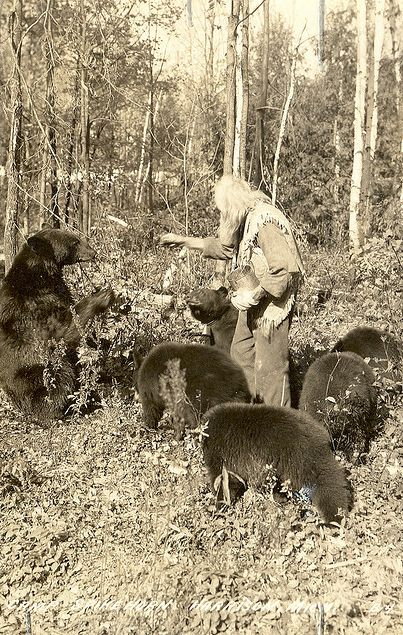 Spikehorn, The Bear Whisperer