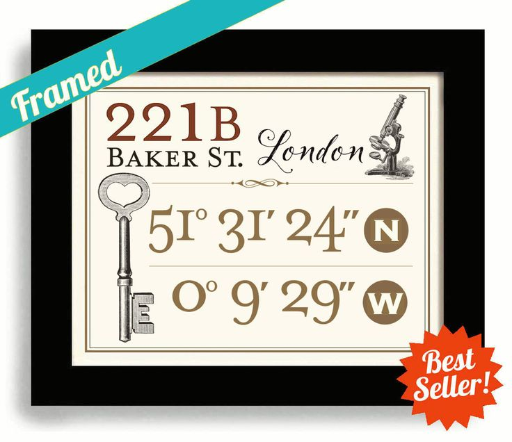 Best 25 latitude longitude ideas on pinterest latitude and excited to share the latest addition to my etsy shop sherlock holmes gift 221b negle Gallery