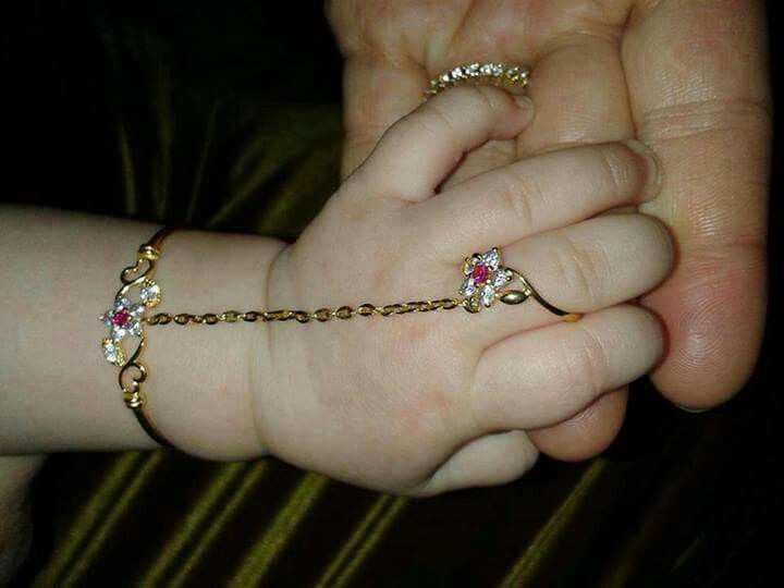 such a cute jewellery for cute hands of baby girl